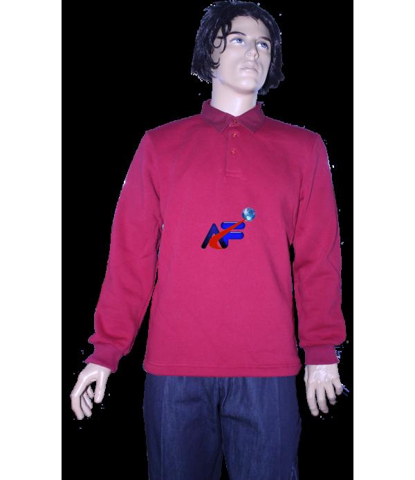 sweatshirt gömlek yaka