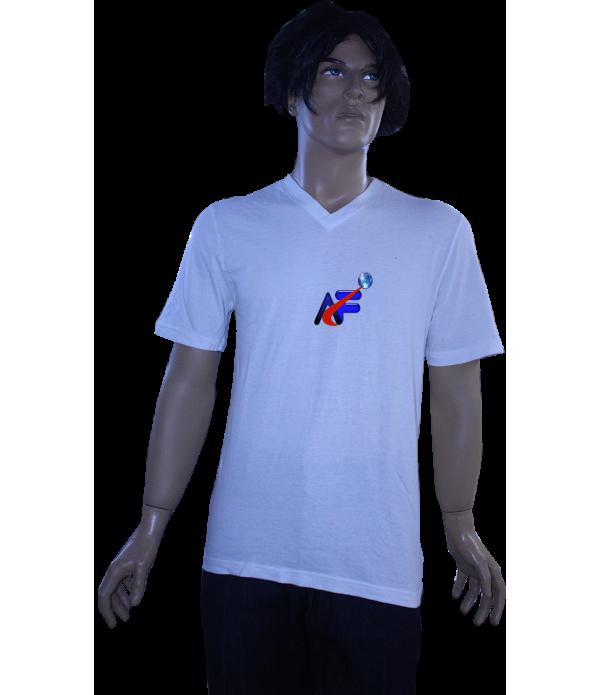 t-shirt V yaka